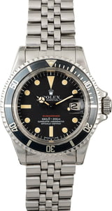 Vintage 1971 Rolex Red Submariner 1680