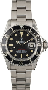 Vintage 1972 Rolex Red Submariner 1680 Feet First