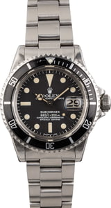 1975 Vintage Rolex Submariner 1680 Feet First Dial