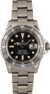 Vintage 1979 Rolex Submariner 1680 Feet First