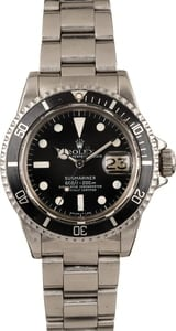 Vintage 1979 Rolex Submariner 1680 Feet First Dial