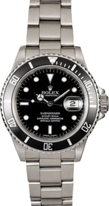 Rolex Vintage Submariner 16800 Steel