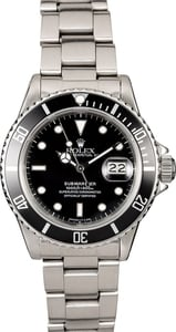 Rolex Submariner 16800 Steel Band