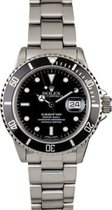 Rolex Submariner 16800 Stainless Steel Oyster Band