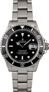 Rolex Submariner 16800 Stainless Steel Oyster Bracelet