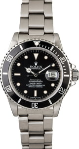 Men's Used Rolex Submariner 16800
