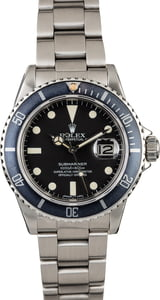 Rolex Submariner 16800 Faded Bezel Insert