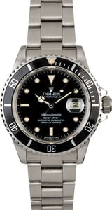 Rolex Submariner 16800 Steel Oyster Watch