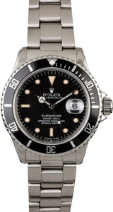 Rolex Submariner 16800 Creamy Hour Markers