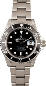 Rolex Submariner 16800 Steel Oyster Band
