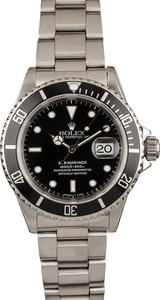 Pre-Owned Rolex Submariner 16800 Oyster Bracelet
