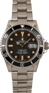 Pre-Owned Rolex Submariner 16800 Feet First Dial