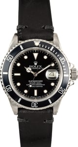 Rolex Submariner 16800 Black Dial