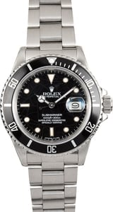 Rolex Submariner 16800 Spider Dial