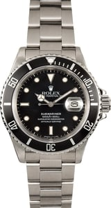 Rolex Submariner 16800 Steel