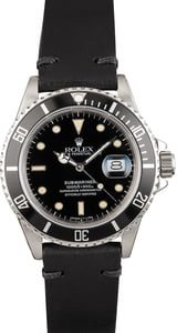 Rolex Submariner 168000 Black Tritium Dial