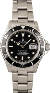 Rolex Submariner 168000 Stainless
