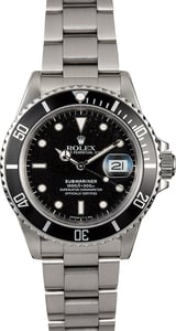 Rolex Submariner 168000 904L Steel