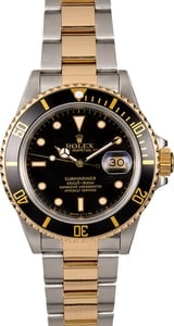 Rolex Submariner 16803 Two-Tone Oyster