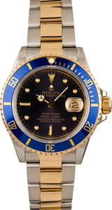 Used Rolex Submariner 16803 Two Tone Oyster
