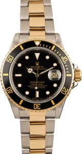 Rolex Submariner 16803 Black Dial
