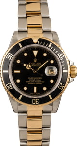 Rolex Submariner 16803 Two Tone Men's Watch