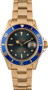 Rolex Submariner 16808 Blue Nipple Topical Dial