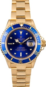 Rolex Submariner 16808 Blue