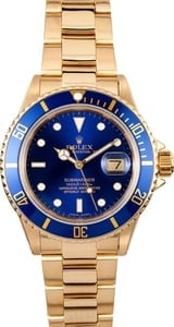 Rolex Men's Submariner 18K 16808