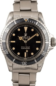Vintage Rolex 5512 Submariner No Date