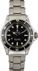 Vintage 1967 Rolex Submariner 5513 Meters First