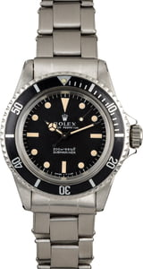 Vintage Rolex 1968 Submariner 5513 Meters First