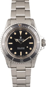 Vintage 1970 Rolex Submariner 5513 Meters First Dial T