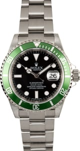 Rolex Submariner Anniversary 16610V Certified Pre-Owned