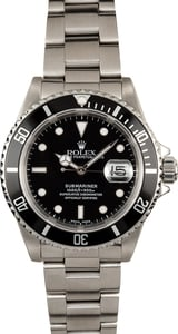 Rolex Submariner Black 16610 Stainless