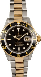Rolex Submariner Black 16613 Certified Pre-Owned