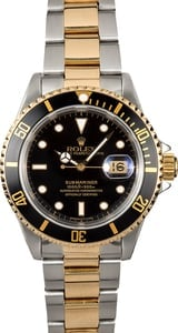 Rolex Submariner Black 16613 Watch