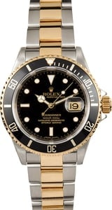 Rolex Submariner Black Dial 16613T 100% Authentic