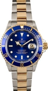 Rolex Submariner Blue Dial 16613