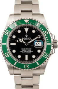 Rolex Submariner Date 126610lv Green Bezel