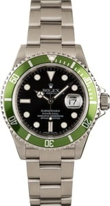 Rolex Submariner Green Anniversary Edition 16610V