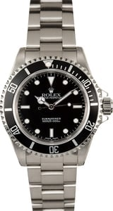 Rolex Submariner No Date 14060M 100% Authentic