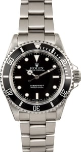 TT Rolex Submariner No Date Reference 14060M