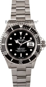Used Rolex Submariner Watch 16610 Bob's Watches