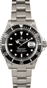 Rolex Submariner Stainess Steel 16610 Pre-Owned