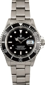 Rolex Submariner Stainless 16610 Oyster
