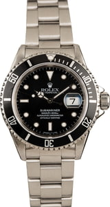 Rolex Submariner Black 16610 Bob'sWatches.com