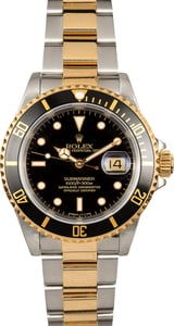 Rolex Submariner Two-Tone 16613 Certified