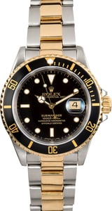 Rolex Submariner Two-Tone Black 16613