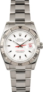 Rolex Datejust Turn-O-Graph 116264 White